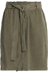 Splendid Mini Skirt Army Green