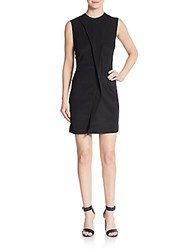Marc By Marc Jacobs Draped Front Dress Black