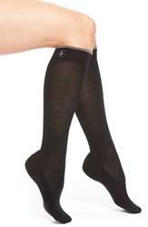 Women's Smartwool Merino Wool Blend Knee High Socks Black