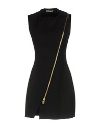 Bouchra Jarrar Short Dresses Black