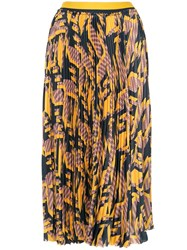 Manning Cartell Graphic Print Pleated Skirt Multicolour