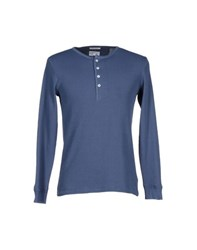 Gant Rugger Topwear T Shirts Men Pastel Blue
