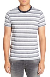 French Connection Men's Jacquard Stripe T Shirt