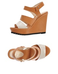 Le Crown Sandals Tan