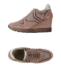Voile Blanche Low Tops And Trainers Pastel Pink
