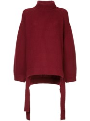 Ellery Wallerian Sweater Red
