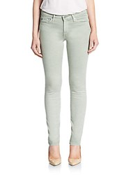 Ag Adriano Goldschmied Mid Rise Cigarette Jeans Light Jean