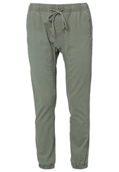 Rusty Get Hooked Trousers Army Mottled Light Green