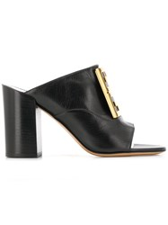 Givenchy 4G Mules Black