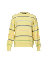Henry Cotton's Sweaters Light Yellow