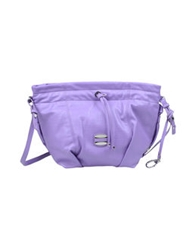 Francesco Biasia Medium Fabric Bags Lilac