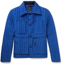 Craig Green Quilted Shell Jacket Bright Blue