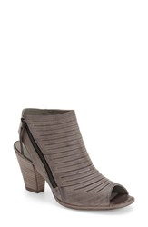 Women's Paul Green 'Cayanne' Leather Peep Toe Sandal Stone Leather