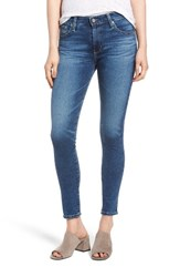Ag Jeans Women's The Farrah Ankle Skinny 14 Years Ablaze