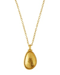 Gurhan 24K Gold Teardrop Pendant Necklace