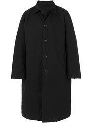 Casey Casey Waxed Coat Black