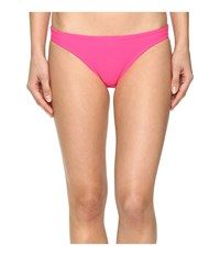 Speedo Solid Hipster Bottom Electric Pink Women's Swimwear