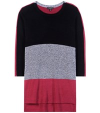 Rag And Bone Jena Knitted Cotton Sweater Multicoloured