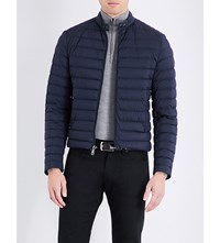 Ralph Lauren Purple Label Down Filled Quilted Shell Jacket Navy