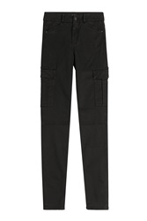 7 For All Mankind Seven For All Mankind The Skinny Cargo Pants Black