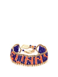 Rosantica By Michela Panero Sunny Beaded Bracelet Navy