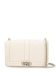 Rebecca Minkoff Love Quilted Crossbody Bag Neutrals