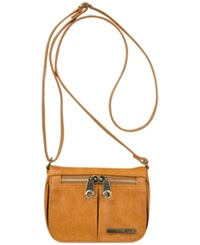 Kenneth Cole Reaction Wooster Street Small Flap Crossbody Saddle