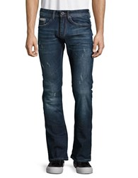 Buffalo David Bitton King Slim Bootcut Whiskered Jeans