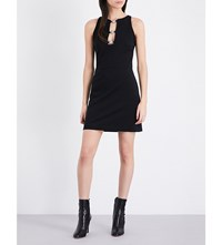 Versus Sleeveless Knitted Shift Dress Black