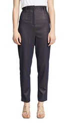 C Meo Collective By Night Pants Navy Metallic