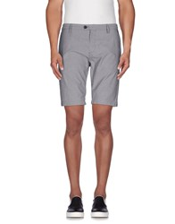 Individual Trousers Bermuda Shorts Men Grey