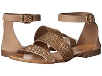 L Space Soleil Sandals Gold Women's Sandals