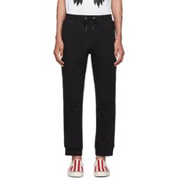 Mcq By Alexander Mcqueen Black Rib Lounge Pants