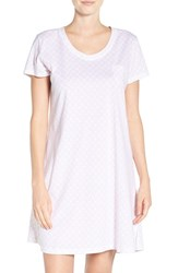 Carole Hochman Women's Print Cotton Sleep Shirt