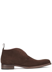 Jeffery West Dexter Brown Suede Chukka Boots