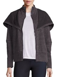 Alo Yoga Chill Heathered Hoodie Heather Charcoal