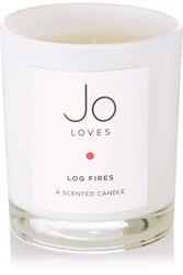 Jo Loves Log Fires Scented Candle Colorless