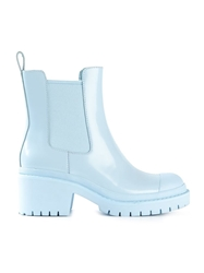 Marc By Marc Jacobs Chunky Heel Chelsea Boots Blue