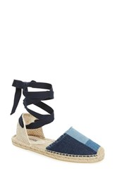 Soludos Women's Patchwork Ankle Wrap Espadrille