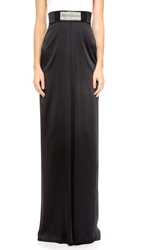 Temperley London Long Adriana Skirt Black
