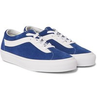 Vans Staple Bold Ni Suede And Leather Sneakers Blue