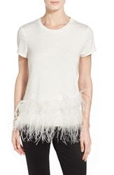 Pink Tartan Women's Asymmetric Feather Tee
