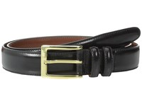 Torino Leather Co. 30Mm Antigua Black Men's Belts