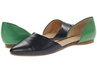 Tommy Hilfiger Naree3 Marine Kelly Green Women's Flat Shoes Black