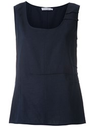 Mara Mac Creases Tank Blue