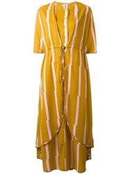 Henrik Vibskov 'Allen' Dress Yellow Orange