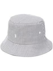 Norse Projects Striped Bucket Hat Blue