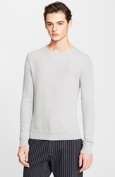 Rag And Bone 'Maurice' Cotton Crewneck Sweater Elephant