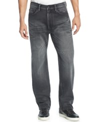 Sean John Patch Pocket Hamilton Relaxed Fit Jeans Euro Black Wash