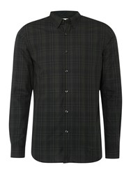 Selected Slim Wales Shirt Dark Green